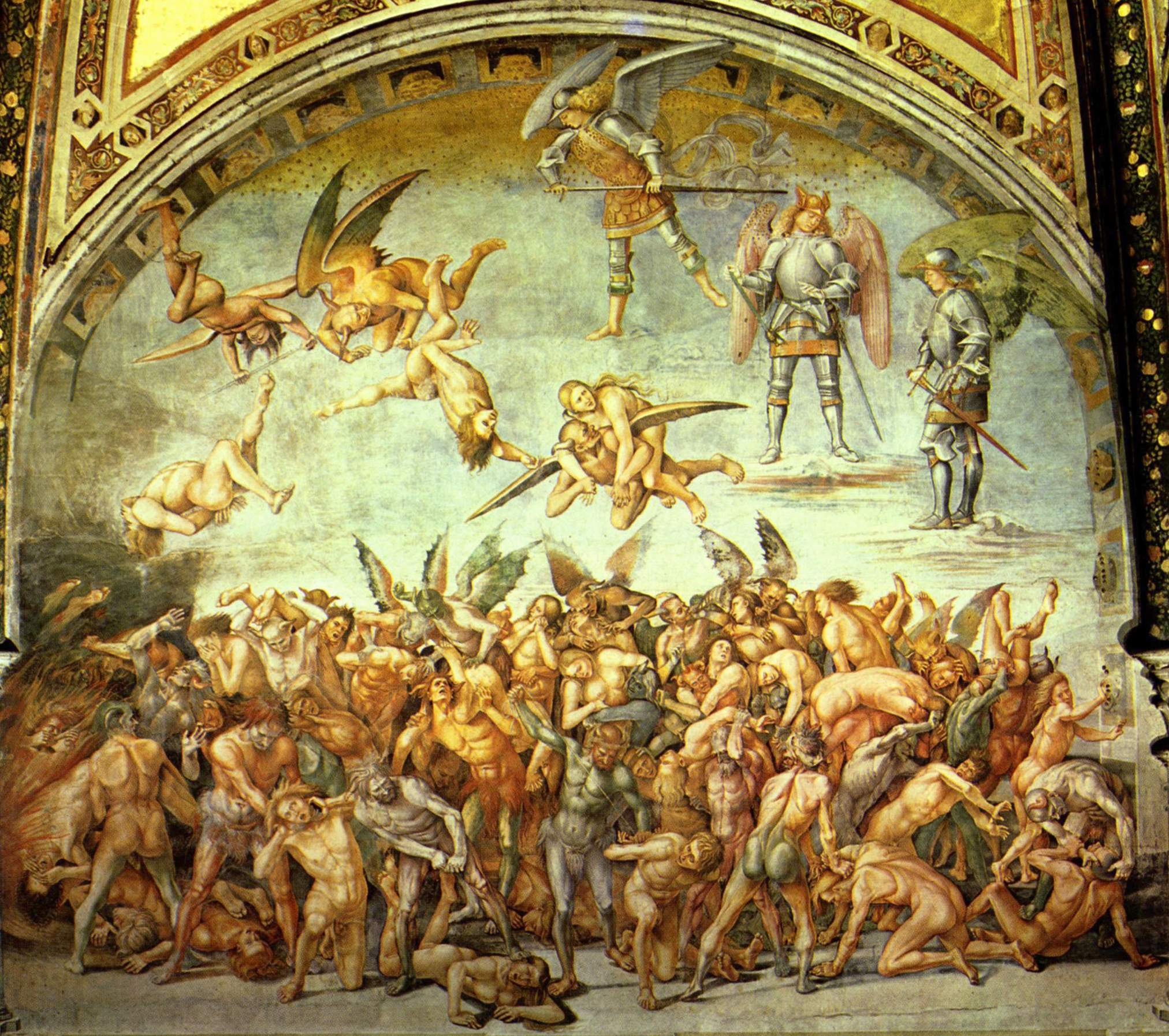 Medieval art hell