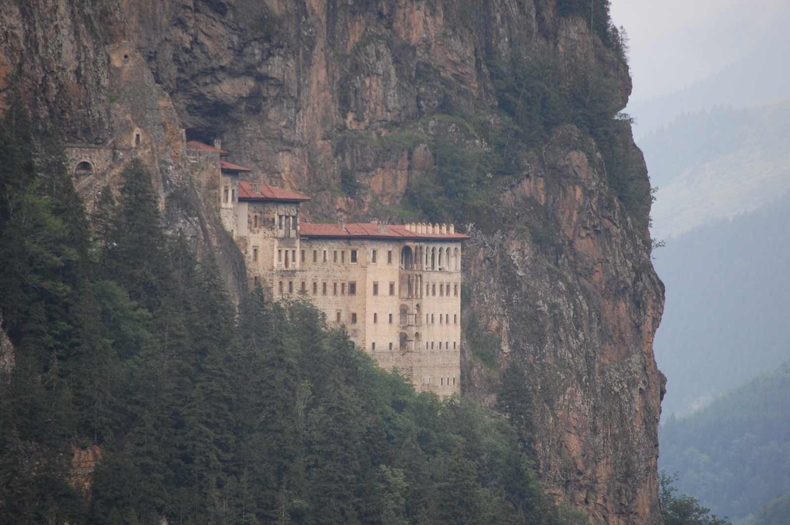Black Sea Cruise -- Trabzon and the Sumela Monastery