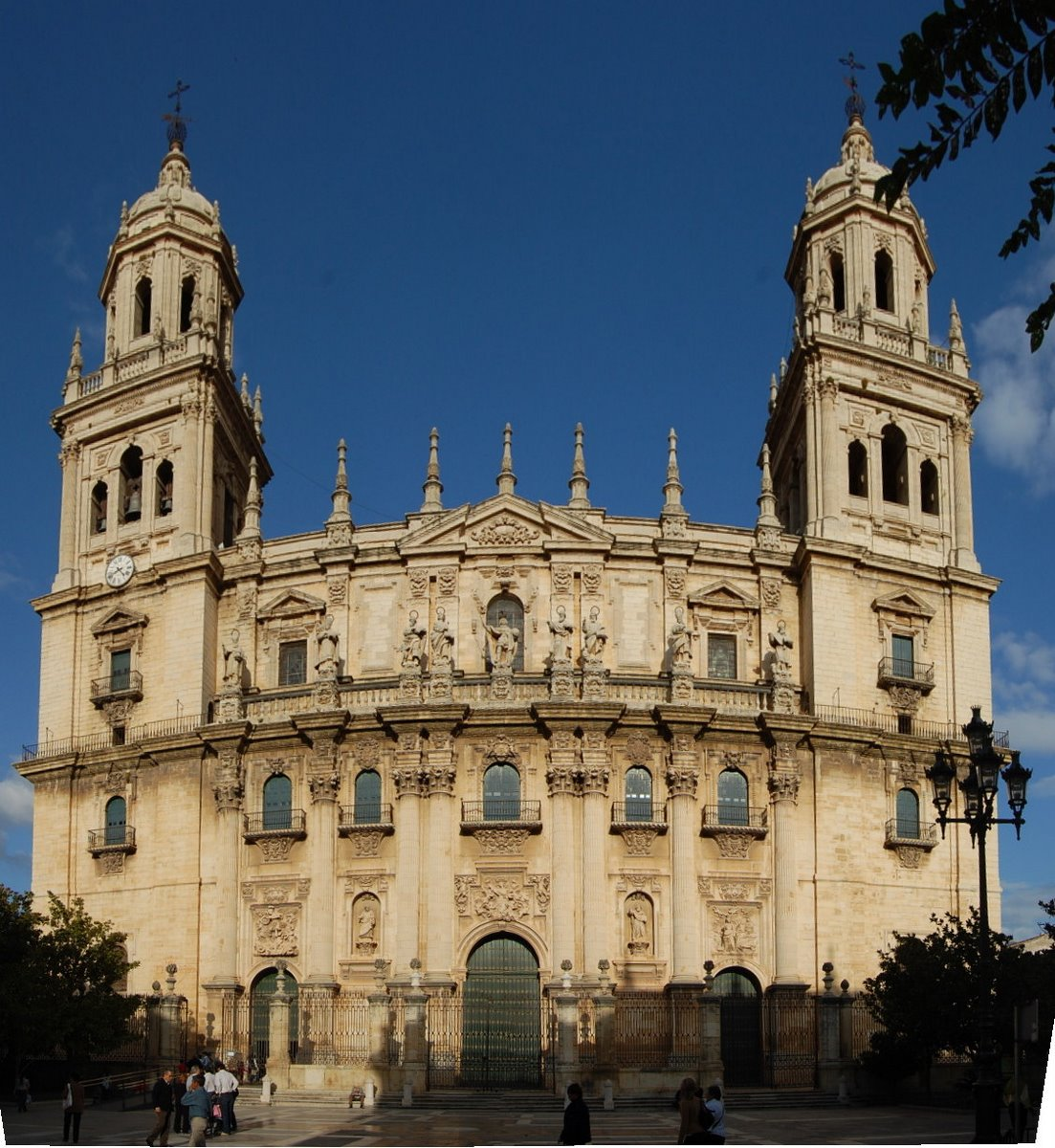 Jaen Spain  City new picture : Jaen, Spain, cathedral