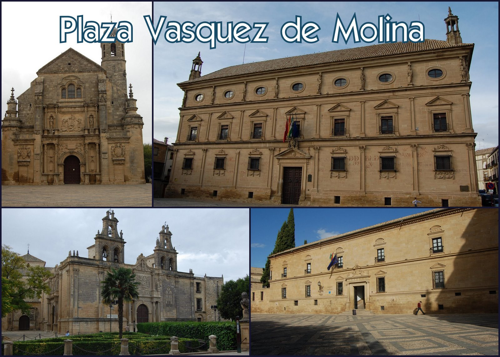 Ubeda Spain  City new picture : Plaza Vazquez de Molina