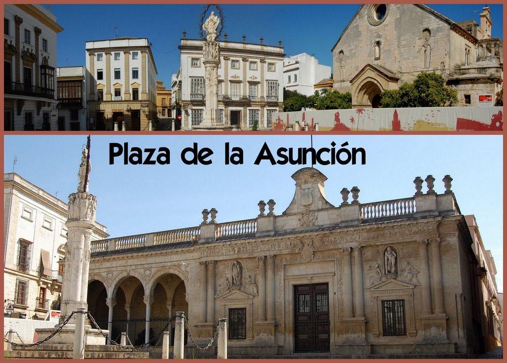 Plaza de la asunci n jerez de la frontera c diz spain for En jerez de la frontera