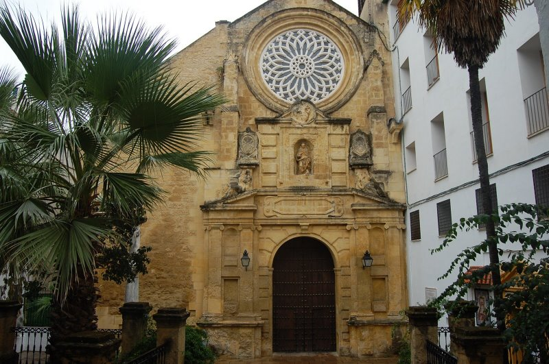 Old Churches Of C 243 Rdoba Spain