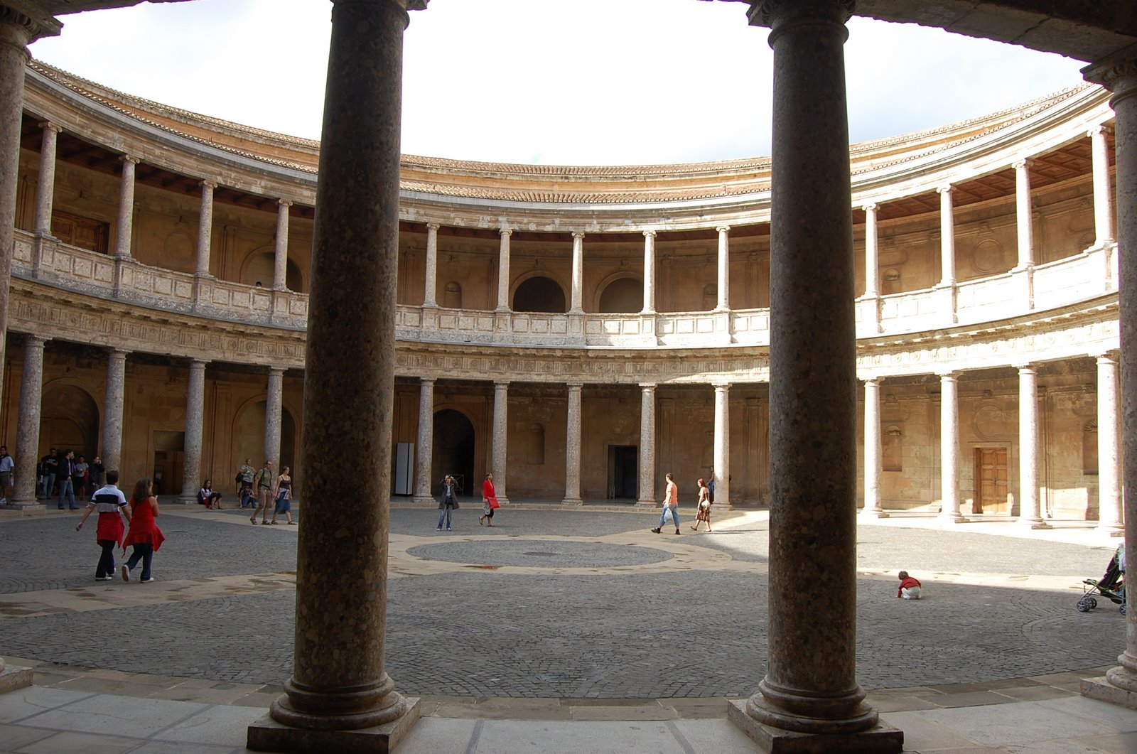 The Alhambra Palace Of Charles V Low Bandwidth Edition