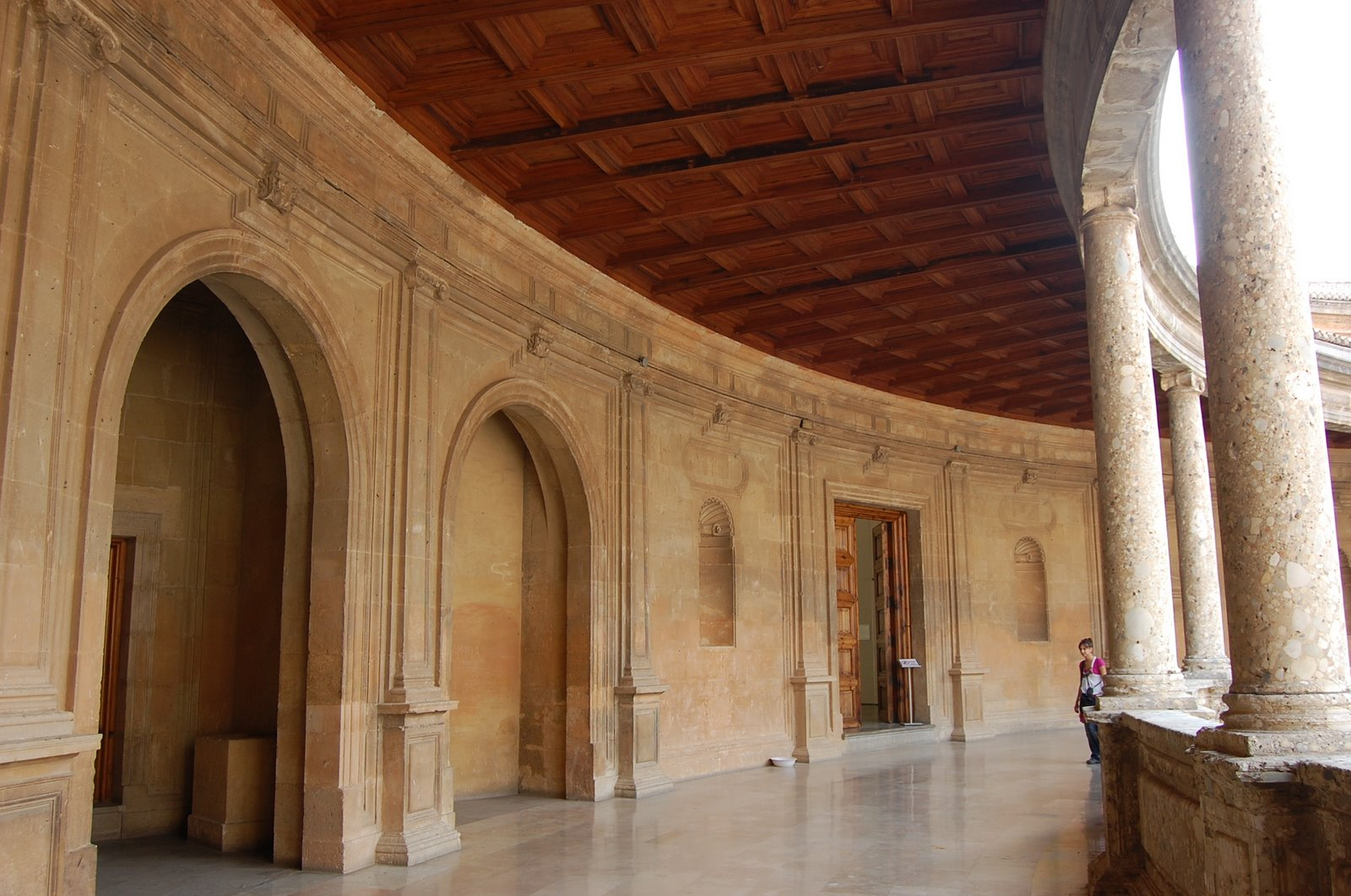 The alhambra palace of charles v low bandwidth edition for Interieur architect