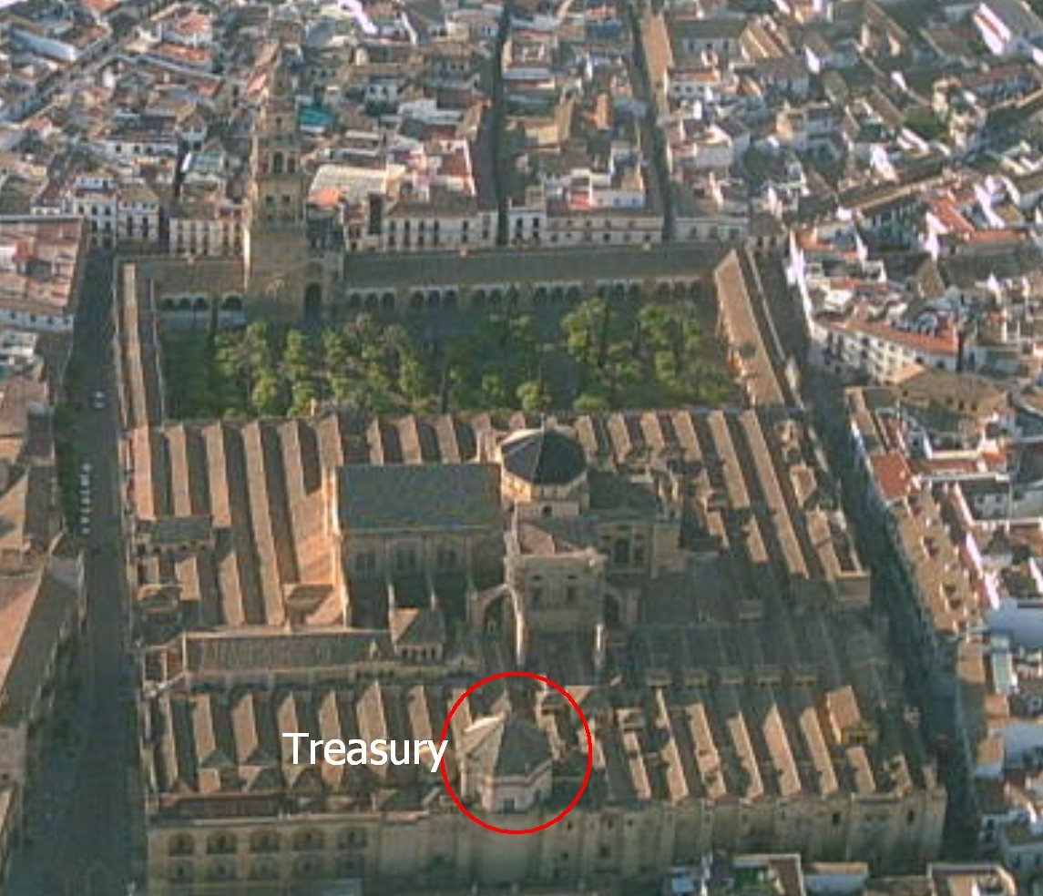 C 243 Rdoba Spain Cathedral Side Altars
